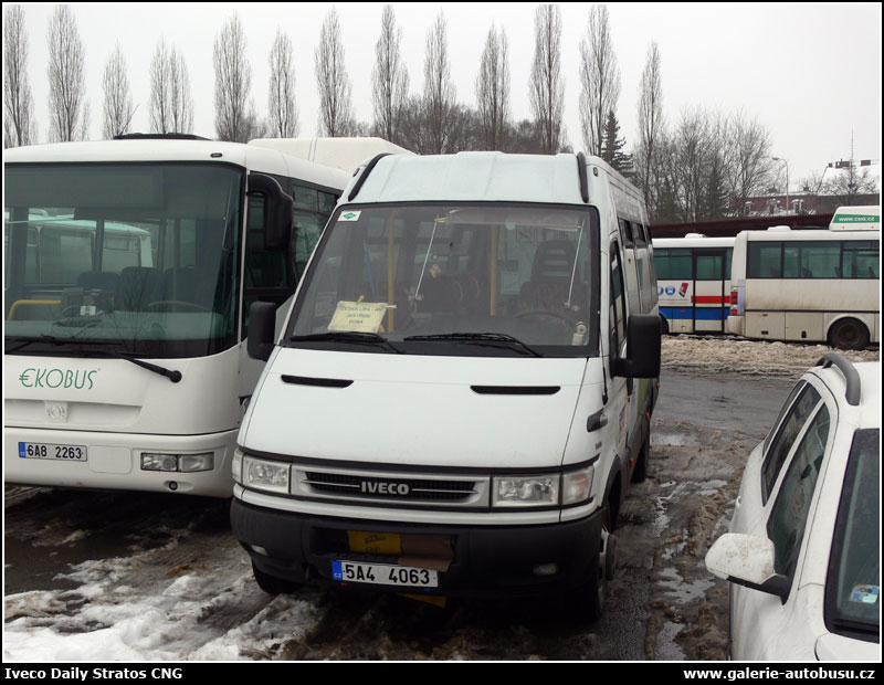 Autobus Iveco Daily Stratos CNG