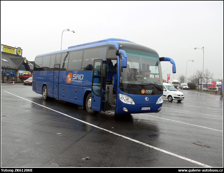 Autobus Yutong Vision ZK6120HE